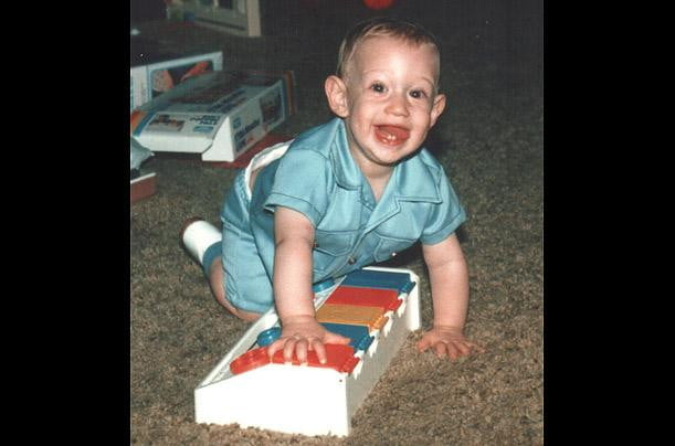 Mark Zuckerberg as a toddler