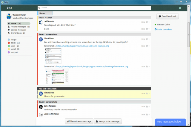 dropbox buys private chat beta zulip app goes live desktop windows