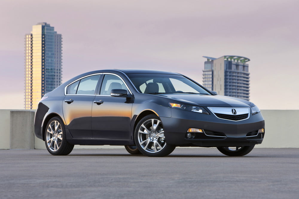 Acura TL Review Tech Transforms The Common Cruiser Digital - Acura tl wheel specs