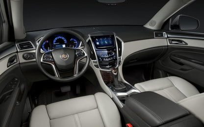 Cadillac CUE infotainment system to get an update   Digital