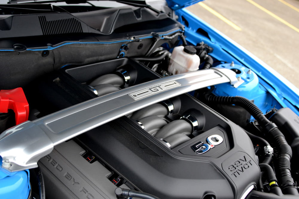 2013 Ford Mustang GT review engine
