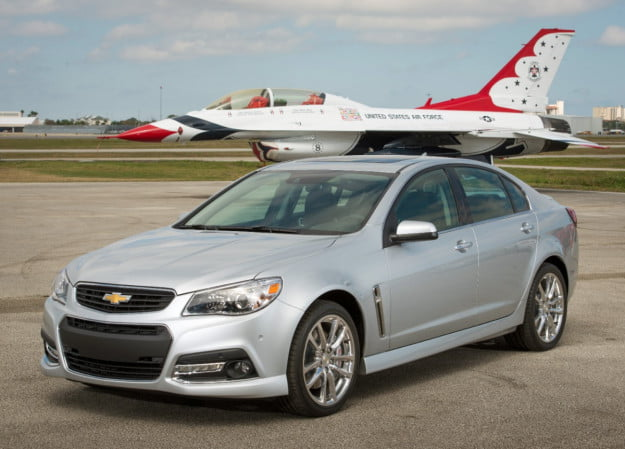 2014 Chevrolet SS with Air Force Thunderbird F16