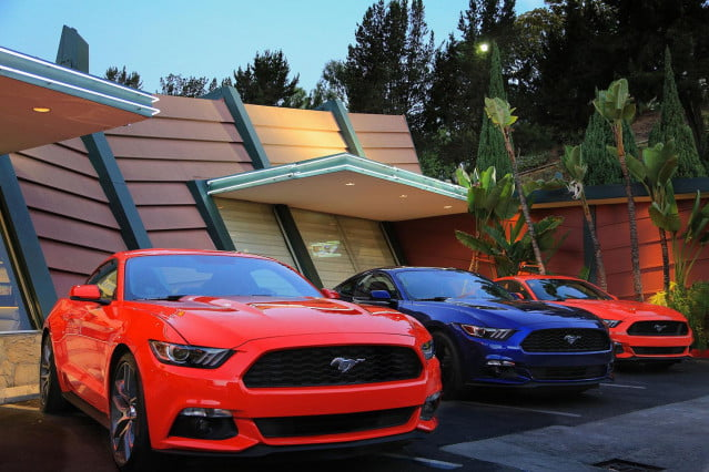 2015 Ford Mustang lineup 2