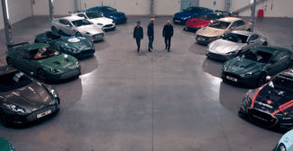 aston martin joyride video 3 drivers