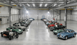 aston martin joyride video 65 million pounds worth of martins