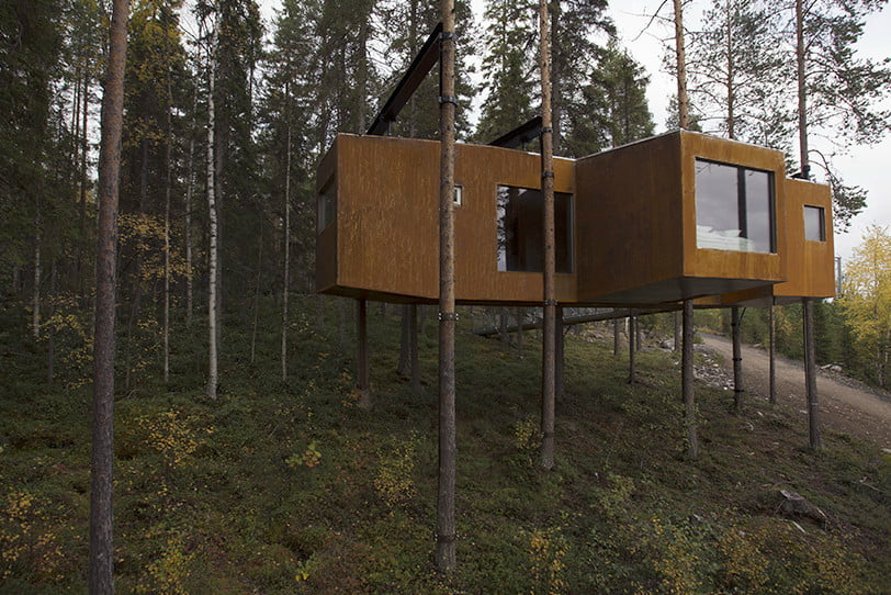 These awesome treehouses will make you question life on solid ground