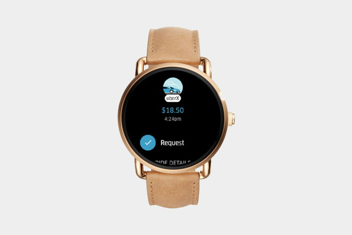 Uber Android Wear app