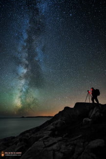 The Astrophotographer At Work