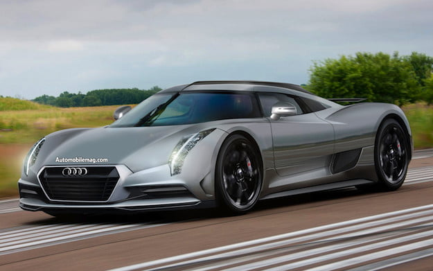 What Year Is It Plans For The Audi R Supercar Begin To - Audi super car