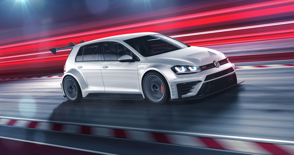 Oh my GTI! The Volkswagen TCR is a 330-hp racecar built just for you