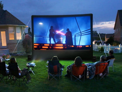 How to set up your own outdoor home theater | Digital Trends