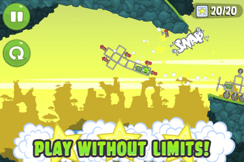bad piggies ipod touch game angry birds