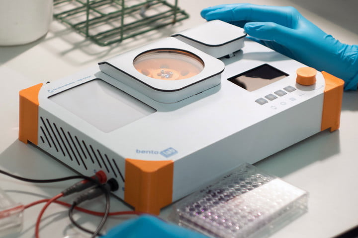 The Bento Lab somehow fits professional DNA analysis equipment into a laptop-sized box