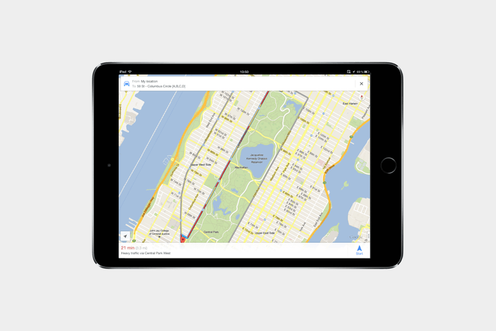 best-ipad-apps-google-maps
