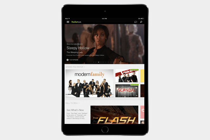 best-ipad-apps-hulu
