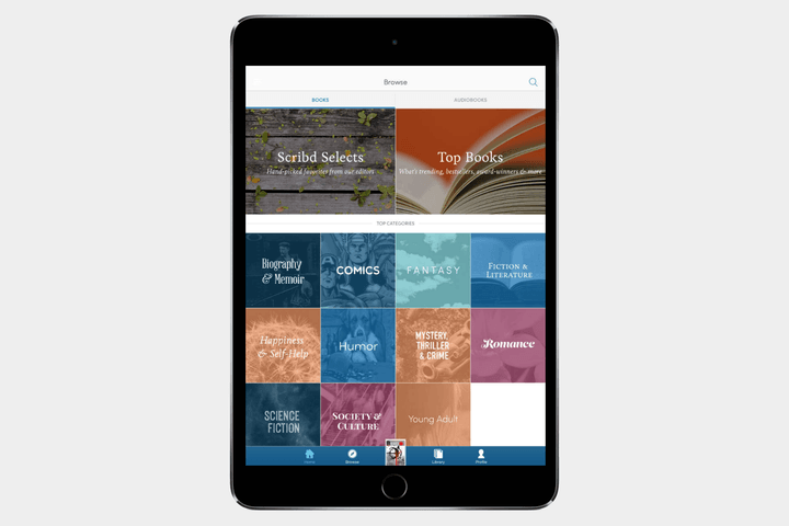 best-ipad-apps-scribd