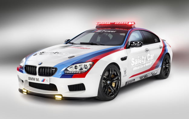 BMW's M6 Gran Coupe as Official Car of MotoGP World Championship