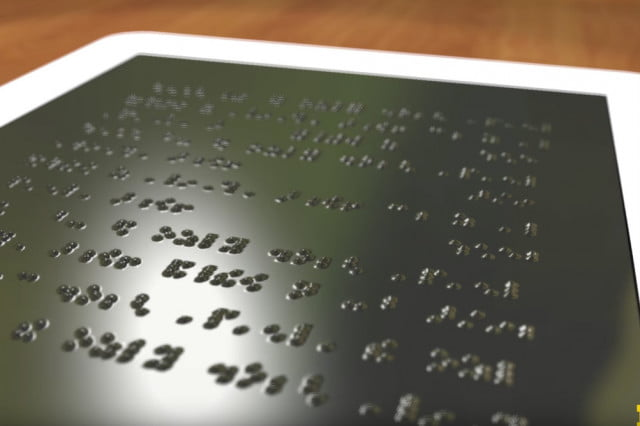 A Kindle for the blind? U.S. researchers working on an affordable Braille tablet