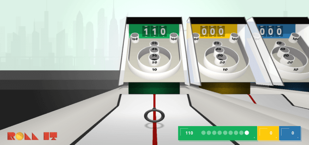 Chrome Experiment's 'Roll It' turns your browser into a Skee-Ball machine