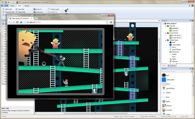 Construct Game Maker
