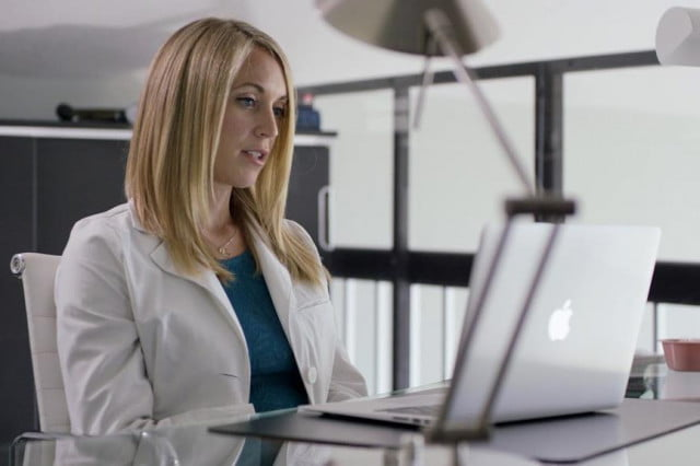 Doctor-on-Laptop