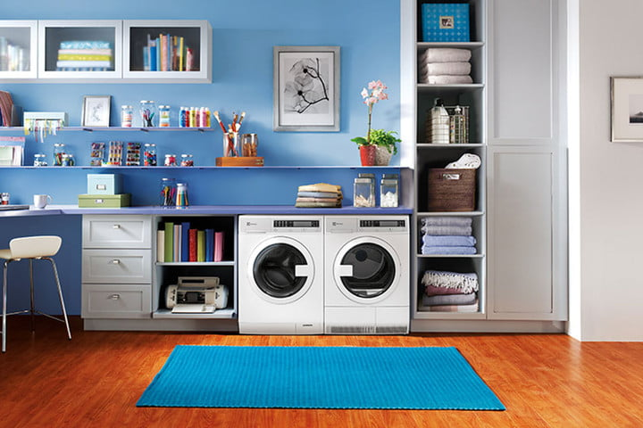 best space saving appliances electrolux compact washer  front load dryer with iq touch