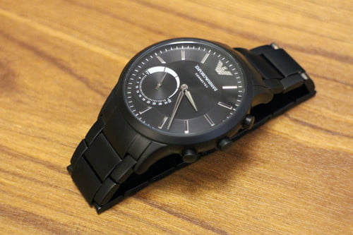 2107d4cead Emporio Armani EA Connected Watch: Review, Features, Price | Digital ...