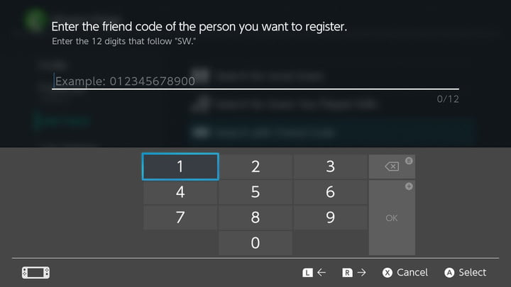 how to connect with friends nintendo switch enter friend code