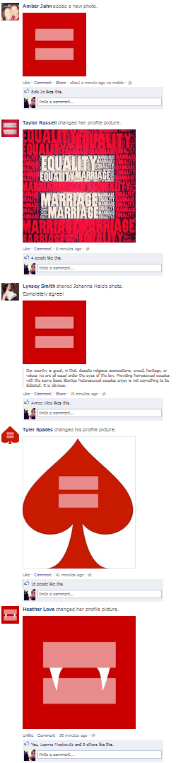 What Is This Red Equal Sign And How Did It Take Over Facebook
