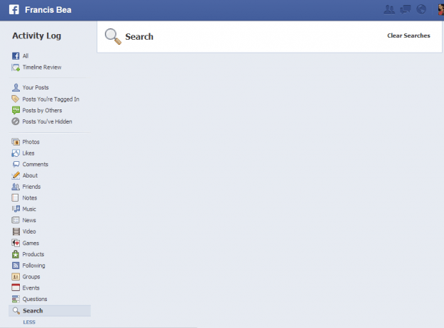 How to delete your Facebook Graph Search activity | Digital Trends