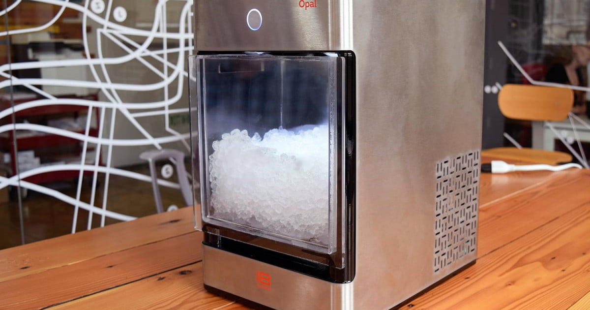 Opal Countertop Nugget Ice Maker : Nugget Ice Maker Indiegogo Digital Trends