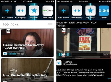 Frequency launches popular video curation app for the iPhone