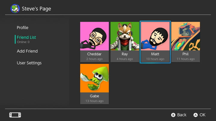 how to connect with friends nintendo switch friend list