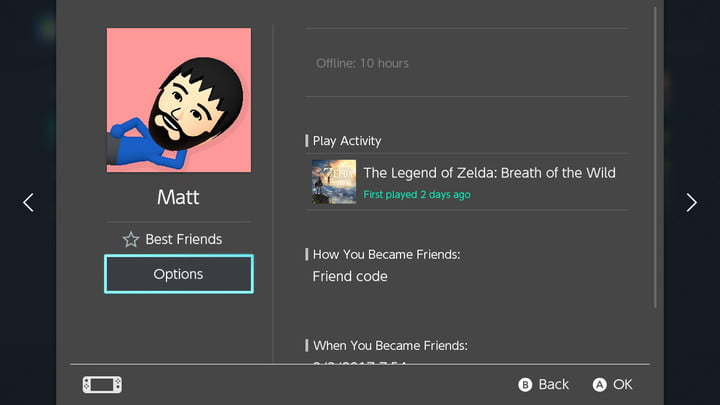 how to connect with friends nintendo switch friend options