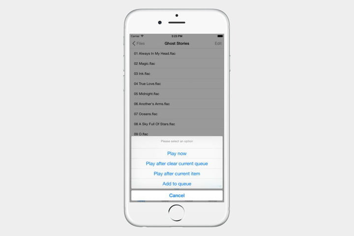 playing flac files on ios devices golden ear