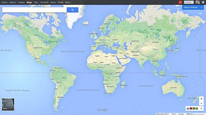 Google opens new Maps web interface to all | Digital Trends on hp world map, google earth, gaming world map, google maps street view, coca-cola world map, agile world map, palm world map, apps world map, web mapping, security world map, satellite map images with missing or unclear data, google mars, blank world map, google voice, google moon, yahoo! maps, google translate, cities in greenland on a map, google goggles, bing world map, microsoft world map, geocoin world map, google latitude, barnes & noble world map, google street view, route planning software, att world map, google map maker, pepsi world map, national geographic world map, google chrome, google search, bing maps, google docs, google sky,