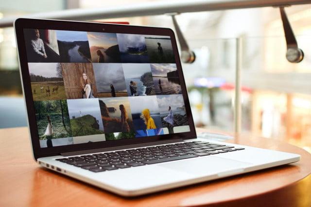 Full-screen viewing of Instagram photos using Grid app for OS X.