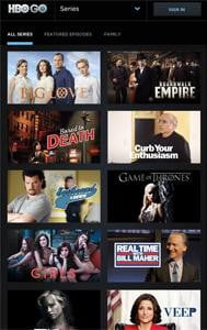 HBO Go screenshot streaming video android kindle fire