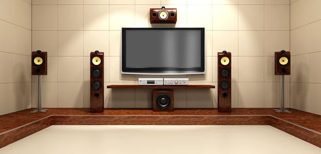 home theater setup movie theater