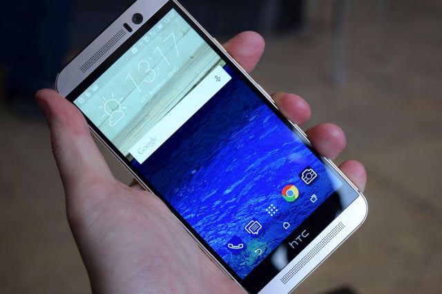HTC One M9 front angle