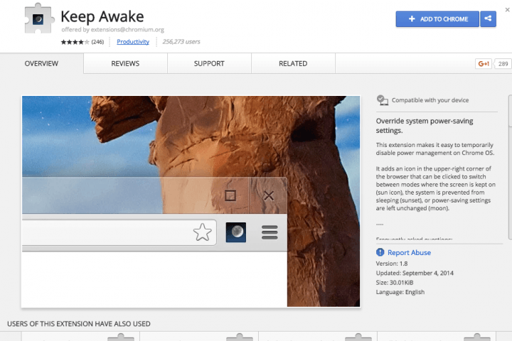 Is your Chromebook drowsy? Here's how to make it stay awake