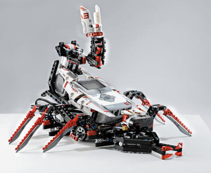 Programmable Lego Mindstorms EV3 is the childhood toy you