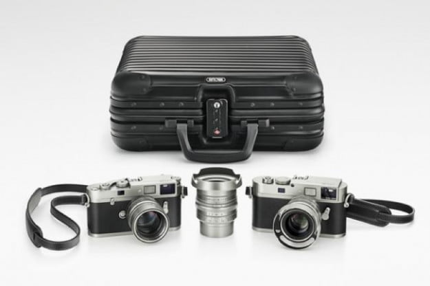 Leica M Edition 100 with case by Rinowa.