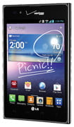 LG Intuition large smartphone