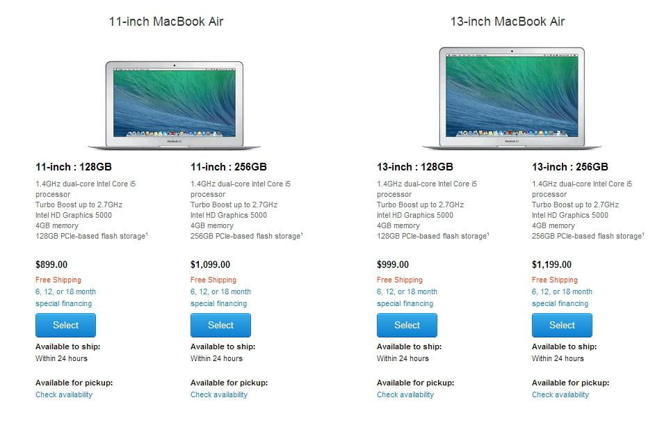 Apple MacBook Air laptop gets a little faster — and a little cheaper