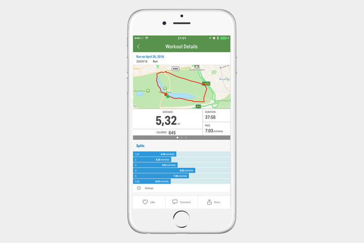 MapMyHike GPS Hiking Apple
