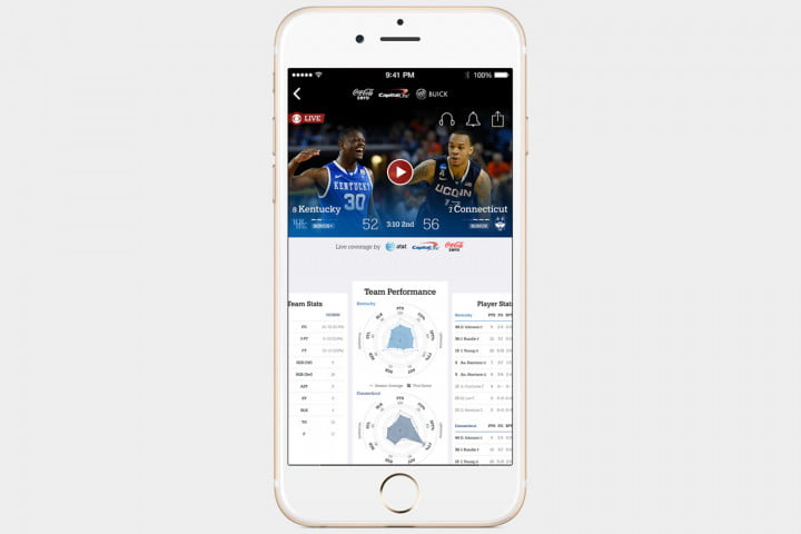 March Madness Live App