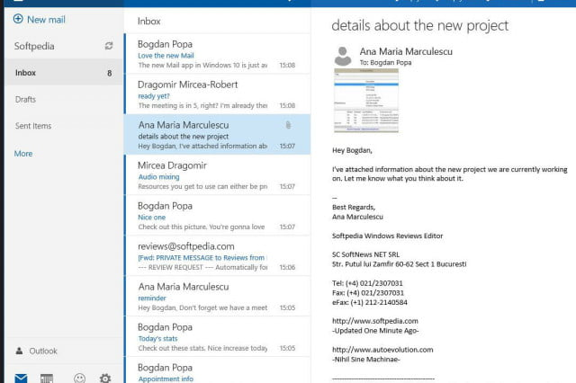 These emails options are way better than Microsoft Outlook