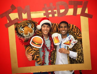 Down to Lunch co-founders, Joseph Lau and Nikil Viswanathan