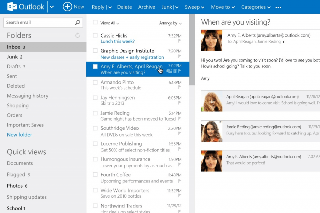 How To Use Outlook With Gmail, Yahoo Mail And Other Email | Digital